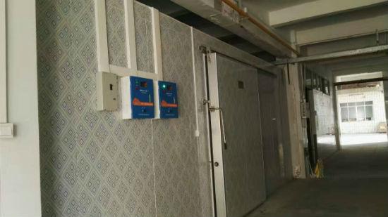 广州来利洪食品集团双温冷库安装完工
